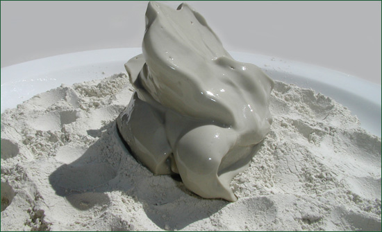 Bulk Green Desert Clay / Hydrated