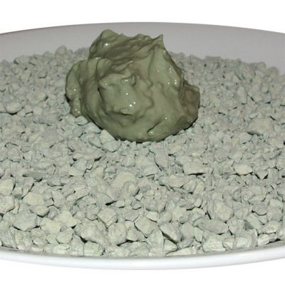 French Green Illite - Sea Clay - Ultraventilated - Powder - 4 lbs.